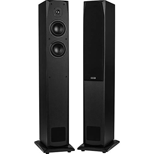 Dayton Audio MK442T 4' 2-Way Transmission Line Tower Speaker Pair