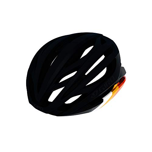 Giro Syntax MIPS Adult Road Cycling Helmet - Large (59-63 cm), Matte Black/Bright Red (2020)