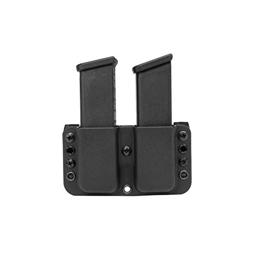Blade-Tech Total Eclipse Double Mag Pouch for Glock 43