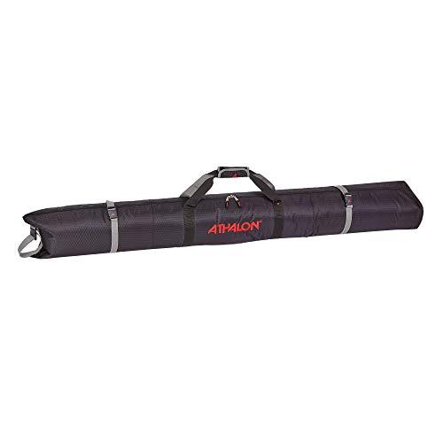 Athalon Padded Single Ski Bag (Black, 155cm)