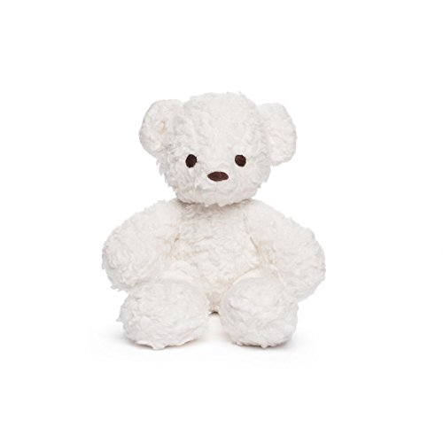 Bears for Humanity Organic Sherpa Bear Plush Toy, White, 10 Inch (Pack of 1)