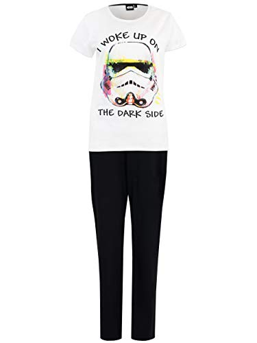 Star Wars Womens' Stormtrooper Pajamas Size X-Large Multicolored
