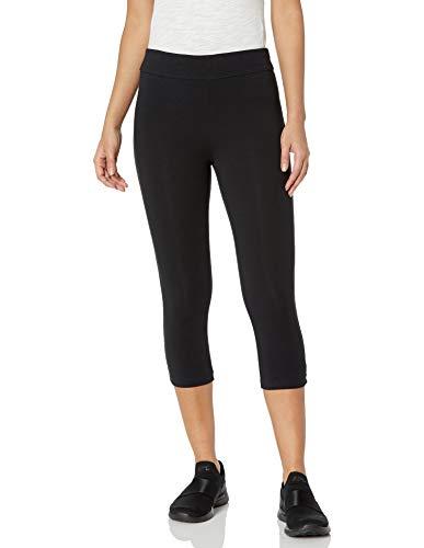 Spalding Women's Essential Capri Legging, Black, X-Large