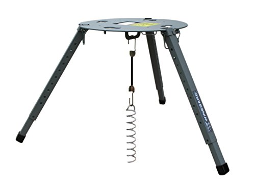 Winegard-11773 TR-1518 Satellite Tripod Mount (Compatible with Carryout, Pathway and Playmaker RV Satellite Antennas) - Adjustable Height, Gray
