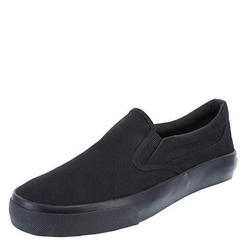 Airwalk Men's Stitch Slip On 8 Regular Black