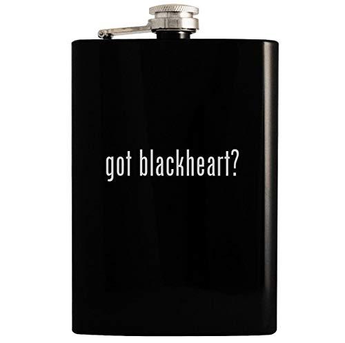 got blackheart? - Black 8oz Hip Drinking Alcohol Flask