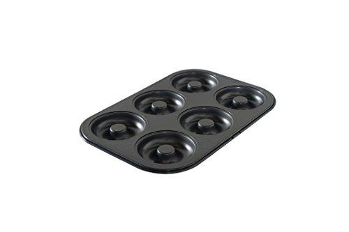 Nordic Ware 6 Cavity Donut Pan, Metal