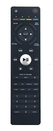 VR7AVR7ReplacedRemoteControl Compatible withVizioBlu-rayDVD Player VBR220VBR231VBR333VBR334VBR-122VBR231BUNDLEVBR140 VBR133 VBR135 VBR140 VBR100VBR110VBR200WVBR210 XVT3D424SVBUNDLE