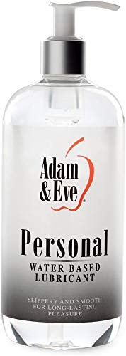 Adam & Eve Water Based Lube 16 oz. | Personal Lubricant for Men, Women and Couples