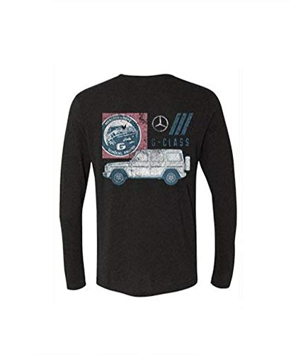 Genuine Men's G-Class Long-Sleeved T-Shirt - Extra Large Black