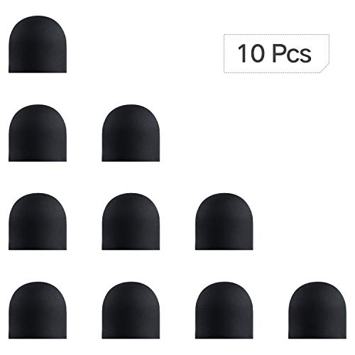 0.31 Inches (8 mm) Replaceable Rubber Tips for ChaoQ Stylus Pen (Pack of 10)