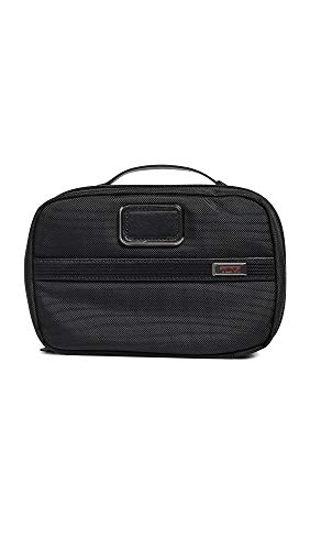 TUMI - Alpha 3 Split Travel Kit - Luggage Accessories Toiletry Bag for Men and Women - Black