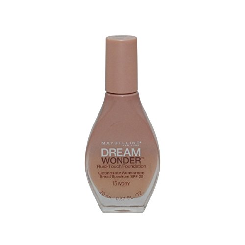 2 Pack- Maybelline Dream Wonder Fluid-Touch Foundation #15 Ivory