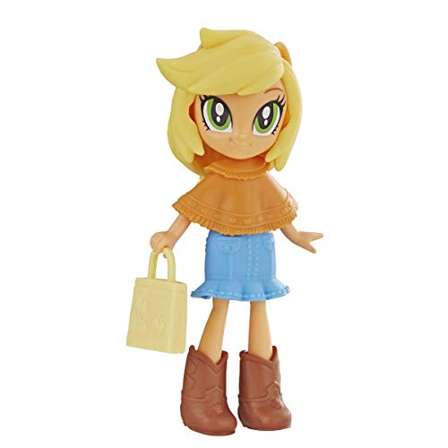 My Little Pony Equestria Girls Fashion Squad Applejack 3' Mini Doll with Removable Outfit, Boots, & Accessory, for Girls 5+