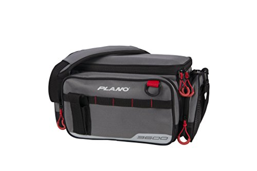 Plano PLAB36110 3600 Size Tackle Case, Grey, Premium Tackle Storage
