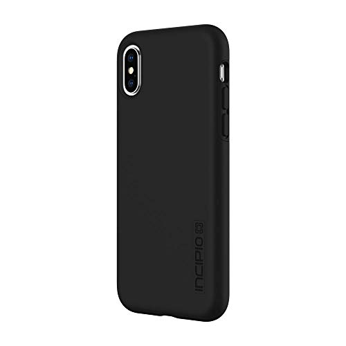 Incipio DualPro Case iPhone Xs (5.8') & iPhone X Case Hybrid Shock Absorbing Drop Protection - Black