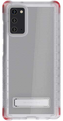 Ghostek Covert Galaxy Note 20 Clear Case with Kickstand and Secure Hand Grip Bumper Super Thin Slim Fit Design and Wireless Charging Compatible Cover for 2020 Galaxy Note20 5G (6.7 Inch) - (Clear)