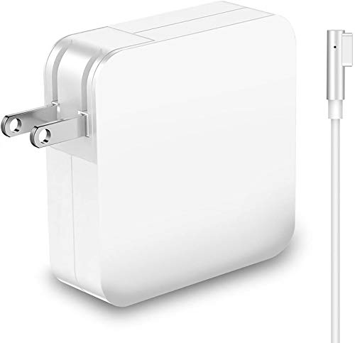 Mac Book Pro Charger, Replacement 60W Power Adapter L-Tip Magnetic Connector Charger for Mac Book and 13-inch Mac Book Pro (Before mid-2012 Model) (60W L-Tip)