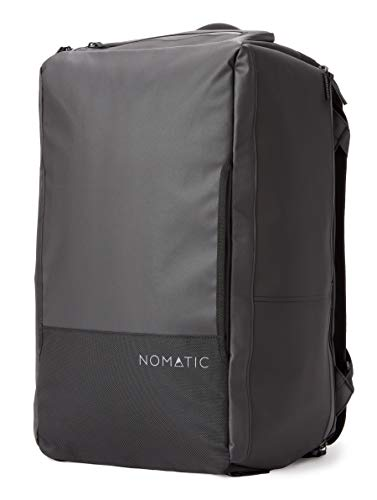 NOMATIC 40L Travel Bag- Duffel/Backpack, Carry-on Size for Airplane Travel, Everyday Use with TSA Compliant Built in Laptop and Tablet Sleeve, Updated V2 for 2020