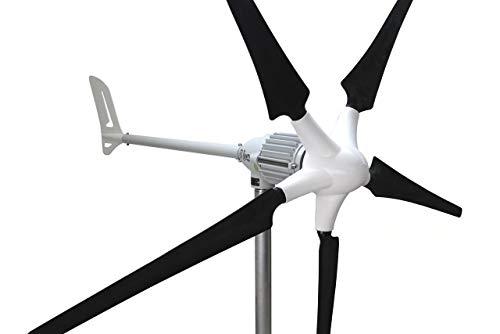 Ista Breeze i-1000 Watt 48 Volt Windgenerator, Wind Turbine, Generator (48 V - Version 5 Blade)