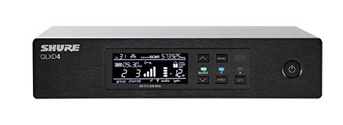 Shure QLXD4 Digital Wireless Receiver (Transmitter Sold Separately)
