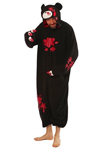 Gloomy Bear Black Kigurumi - Adult Pajamas Fancy Dress