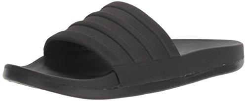 adidas Men's Adilette Comfort Slide Sandal Black/Black/Black , (10 M US)