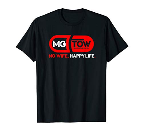 MGTOW T-Shirt: No Wife, Happy Life. Red pill