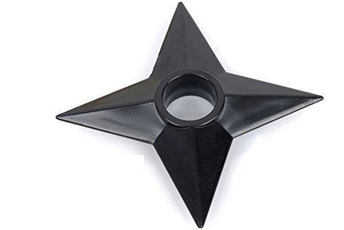 Oliasports Cosplay Ninja Set of 3Pcs Plastic Black Costume