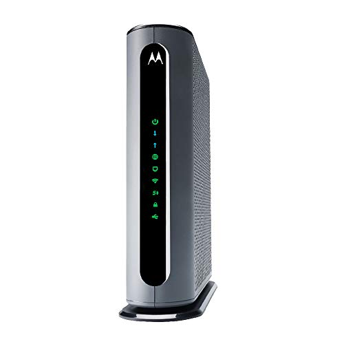 Motorola MG8702 | DOCSIS 3.1 Cable Modem + Wi-Fi Router (High Speed Combo) with Intelligent Power Boost | AC3200 Wi-Fi Speed | Approved for Comcast Xfinity, Cox, and Charter Spectrum