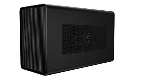 Razer Core X Aluminum External GPU Enclosure (eGPU): Compatible with Windows & Mac Thunderbolt 3 Laptops - NVIDIA /AMD PCIe Support - 650W PSU