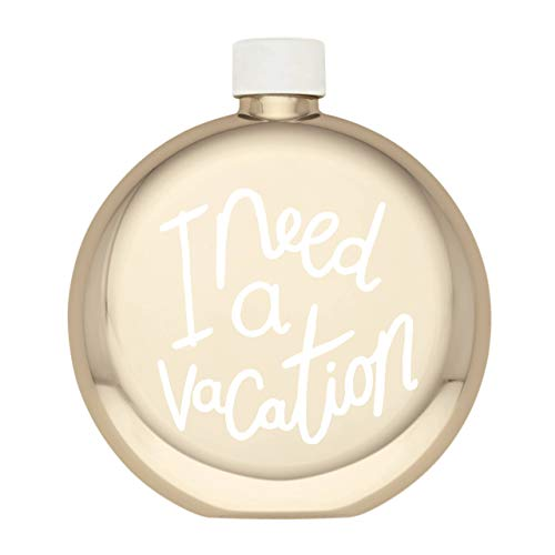 Kate Spade New York All That Glistens I Need a vacation flask