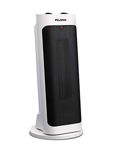 PELONIS PH-19J 1500W Fast Heating, Programmable Thermostat, Easy Control, Widespread Oscillation, Over Heating & Tip-over Switch Protection, 17.767.72inch, Tower Heater