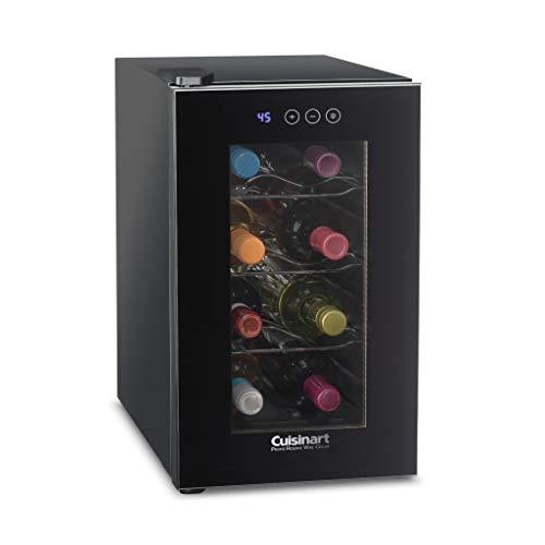 Cuisinart CWC-800CE 8 Bottle Private Reserve Cellar Wine Refrigerator, Black
