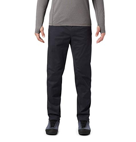 Mountain Hardwear Men's Stretch Cederberg Pull On Pant | Comfortable Pants for Climbing and Casual Wear - Light Army - Medium Long
