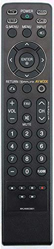 New MKJ40653801 Remote Control Replaced for LG Models: 32LG30DC,42LG30UD,37LG30,37LG50,42LG50,42LG30,32LG30,47LG50,52LG50 32LG60,37LG60,42LG60,47LG60,52LG60,32LG70,42LG70 47LG70