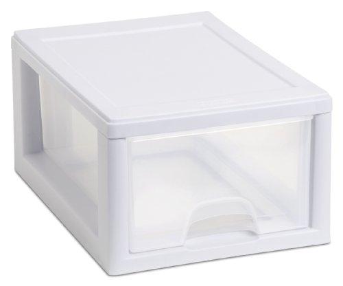 Sterilite Corp. 20518006 Sterilite Stackable Storage Drawer 12 7/8' D x 8 7/8' W x 6' H