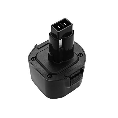 FirstPower for Dewalt 9.6V Battery Pack DW9062, Upgrade 3700mAh Battery Replacement for DEWALT 9.6V Battery NiCd, DW9061 DW9062 DE9036 DE9062 DW9614