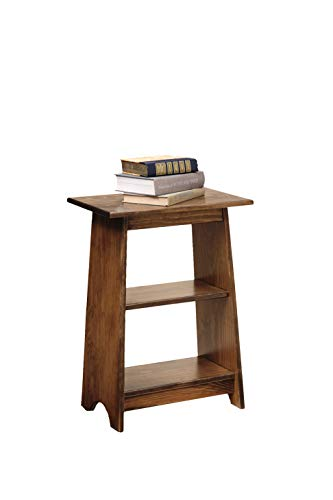 Peaceful Classics End Table Amish Furniture | Lamp Stand Thin Narrow Accent Table for Bedroom, Living Room, Coffee Table (Small, Special Wlanut)