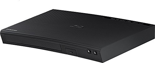 SAMSUNG BD-J5100 Curved Blu-Ray Disc Player with Remote control