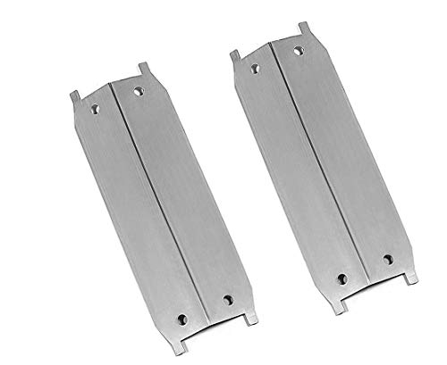 bbqGrillParts Grill Heat Plate for Select Maxfire 810-9212-S & Brinkmann 810-9213-S, 810-9212-S, 810-9311-S Gas Models- 2 Pack