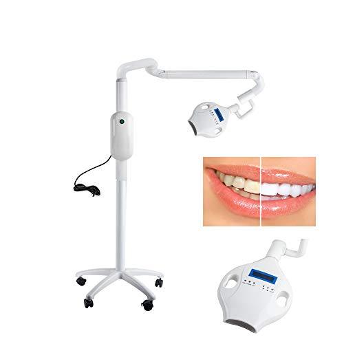 Dental Mobile Teeth Whitening Bleaching Machine LED Light Accelerator LED Teeth Whitening Beauty Lamp for Clinic