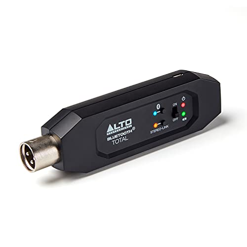 Alto Professional Bluetooth Total 2 - XLR Equipped Rechargeable Bluetooth Receiver For Mixing Desk / Audio Mixer Setups and Active PA systems