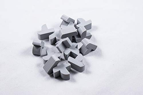 Settlers of Catan Replacement Board Game Pieces - 3D Prints (Gray Ships)