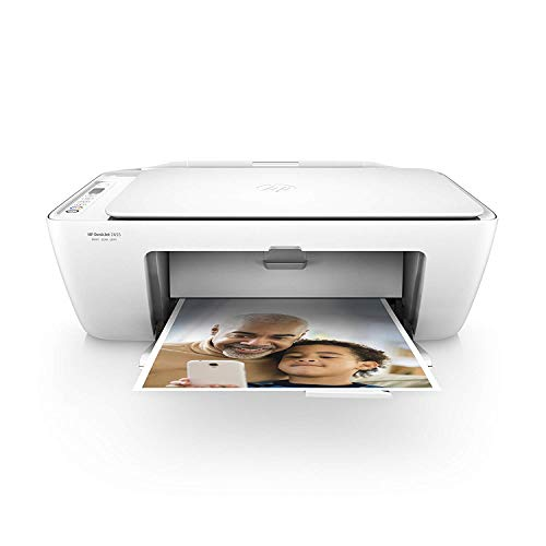 HP DeskJet 2655 All-in-One Compact Printer, HP Instant Ink, Works with Alexa - White (V1N04A)