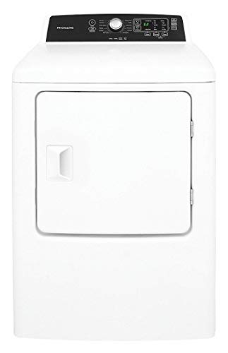 FFRG4120SW 27 Front Load Gas Dryer with 10 Dry Cycles 6.7 cu. ft. Capacity 4 Temperature Selections Quick Dry Cycle Moisture Sensor and Anti Wrinkle Option in White