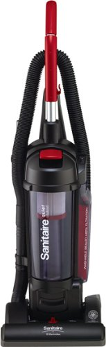 Sanitaire SC5745A Commercial Quite Upright Bagless Vacuum Cleaner with Tools and 10 Amp Motor, 13' Cleaning Path