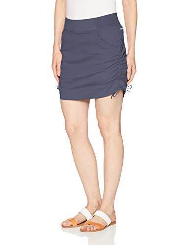Columbia Women's Plus Size Anytime Casual Skort, Nocturnal, 2X
