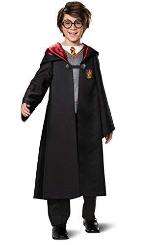 Harry Potter Costume for Kids, Classic Boys Outfit, Children Size Medium (7-8)