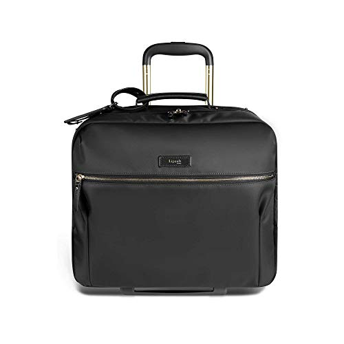 Lipault - Business Avenue Rolling Tote - 15' Laptop Wheeled Briefcase Bag for Women - Jet Black